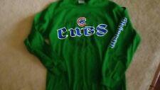 Chicago CUBS shirt mens medium green