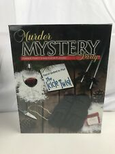 Murder Mystery Party - The Icicle Twist - New