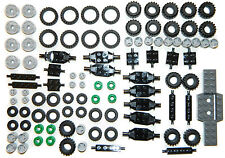 LEGO WHEELS 100 pieces set city BRAND NEW small medium large tyre axle 6118 FSH