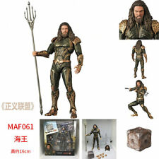 "7"" Dc Justice League Maf061 Aquaman Action Figure Statue Toy"