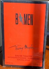 B MEN by THIERRY MUGLER 1.7oz-50ml Eau de Toilette Spray *DISCONTINUED* SEALED