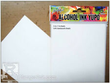 "Alcohol Ink Yupo® Translucent Paper 5"" x 7"" 10 sheets NEW & AMAZING PAPER!"