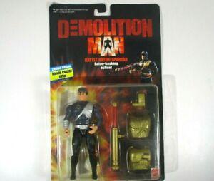 Mattel Demolition Man Battle Batton Spartan 1993 Action Figure (Brand New)