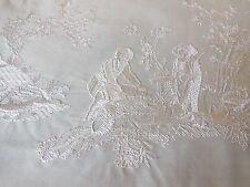 MANUEL Canovas ricamato Toile de Jouy campione di tessuto-la musardiere Broderie