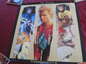 POLICE Synchronicity Promo Poster 24x24 Sting