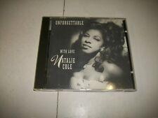 CD-NATALIE COLE:UNFORGETTABLE WITH LOVE-WARNER/ELEKTRA-1991 DUET Nat King Cole