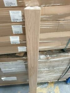 Oak 1500mm x 90mm Newel Post - Stair refurbishment Post Full or Half Options