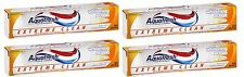 4 Pack Aquafresh Extreme Clean Toothpaste Whitening Action 5.6Oz Each