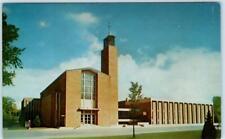 MOORHEAD, Minnesota MN  ~ TRINITY LUTHERAN CHURCH  Clay County  c1970s Postcard