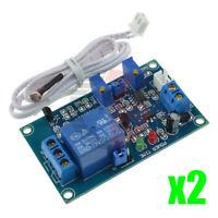 2PCS Photoresistor Relay Module 12V Light Detect Sensor Timmer Light Control