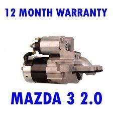 MAZDA 3 2.0 2003 2004 2005 2006 2007 2008 2009 RMFD STARTER MOTOR