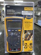 Fluke 115 600Vac Field True Rms Digital Multimeter New Sealed