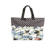 Sprayground Off Shore Account Money Hundred Dollar Bills Tote Bag 910T1823NSZ