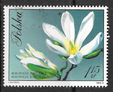 large Poland stamp shows Magnolia flower - see scan - 72