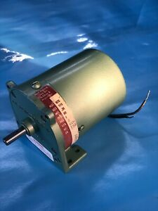 New England Electric Small Gear Motor Model# G7C 115VAC(.36AMPS)4RPM 1ph 60hz.