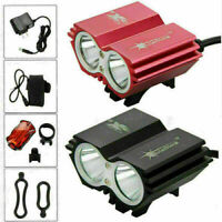 SolarStorm LED Rechargeable Bicycle Light Bike Headlight Battery Rear Taillight