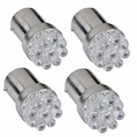 4 X 1156 Lamp Bulb BA15S P21W 9 LEDs 12V White For Car SH