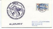 1980 Deutsche Antarktis Expedition Station Ronne Filchner Gotland II Polar Cover