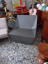 Chauffeuse Fauteuil cubiste design chair