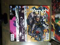 BATMAN 5 Book lot #45,46,47,48,49 New 52  1st print  D.C Comics w Variant #47,49
