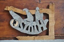 Fun Sloth Animal Puzzle Wood Amish Made Scroll Saw Toy NEW