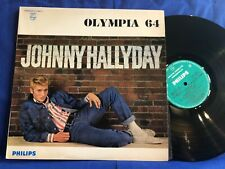 JOHNNY HALLYDAY OLYMPIA 64 77987 ETAT PARFAIT ORIGINAL FRANCE LP NEAR MINT