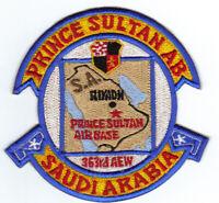 PRINCE SULTAN AIR BASE, SAUDI ARABIA, 363RD AEW       Y