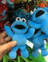 sesame street cookie monster Plush Toy stuffed keychain anime doll new first