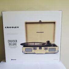 New listing Crosley Cr8005Dgr Cruiser Deluxe 3-Speed Turntable