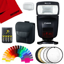 Canon Speedlite 470Ex-Ai with Ai Bounce Flash and Accessories Bundle