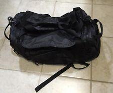 """Burton Backpack Duffle Bag Shoulder Bag Black 4 Pockets 2 Handles 26"""" X 11"""""""