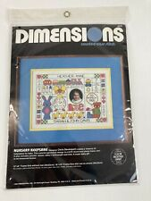 Vintage Dimensions Cross Stitch KIT #3576 Personalized Baby Birth Record NEW