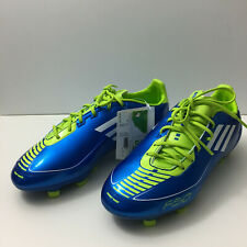 Adidas F30 Trx Fg J Soccer Shoes Cleats Size 5 Youth Junior Blue Green Whit