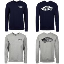 VANS Sweatshirt Herren Pullover  - Off the Wall - Skater - Grau - Navy - NEU