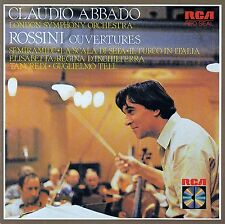 ROSSINI: OUVERTURES - LONDON SYMPHONY ORCHESTRA, CLAUDIO ABBADO / CD