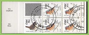 Ireland 2002 Birds Booklet (4x41c+1x36c) used