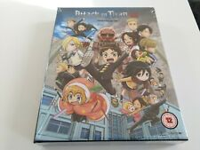 Attack On Titan Junior High The Complete Series Collectors Blu Ray New Sealed
