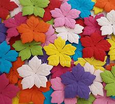 500 Paper Flower Petals Scrapbook Cardmaking Birthday craft supply P40-427