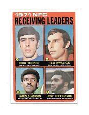 1972 Topps #6 NFC Receiving Leaders NM-MT