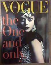 rivista vogue unique suppl. al 733 di vogue italia del settembre 2011