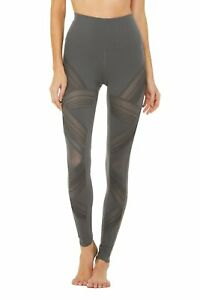 NEW! Alo Yoga Pant High-Waist Ultimate Legging W5574R Color Anthracite X-Small