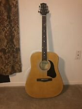 Silvertone SD3000 Acoustic Guitar w/Tuner, Strings, Bag, And How To Play Guitar!