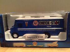 1/87 Scale MT-55 Freightliner Van-CHECK STOP POLICE # 509