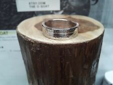 """Great Sand Dunes """" Co. Size 8 3/4 Custom Made Coin Ring U.S. State Quarter """""""