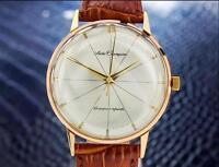 Vintage Rare Seiko Champion Diashock Gold Plated Stainless St 1960s Watch SCX24