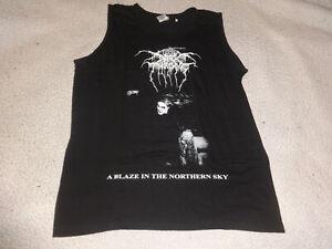 Darkthrone Tank Top Shirt XL Black Metal Morbid Dead Emperor Mgla Emperor 666