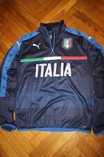 Italia  Puma 1/4-Zip DryCELL Training Jacket - Navy Size M