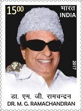 INDIA 2017 Dr M G  Ramachandran SOUTH ACTOR POLITICIAN CINEMA MGR MNH