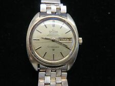Vintage OMEGA CONSTELLATION~Day/Date~18K Gold Capped SS~CD 168.029~Cal 752~Autom
