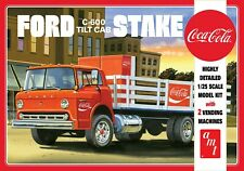 AMT1147 - Coca-Cola Ford C-600 Tilt Cab Stake Bed - 1/25 Scale Plastic Model Kit
